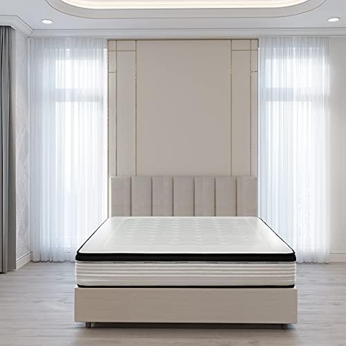 Kuo Dream - Colchón Orsay Spring | Colchón de Muelles Ensacados | Transpirable, Adaptable y Ergonómico | 80 x 190 cm