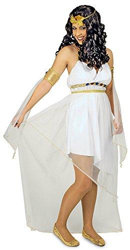 Griechische Göttin Athene Kostüm für Damen Gr. 40 42 - Wunderschönes antikes Kostüm für Karneval, Theater oder Mottoparty