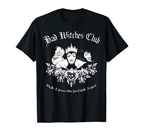 Disney Villains Bad Witches Club Group Shot Graphic T-Shirt T-Shirt