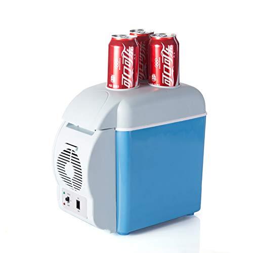 YFASD Mini elektrische Kühlschrank 7.5L tragbarer haushalts Auto compact energiespar Kompressor kühlbox
