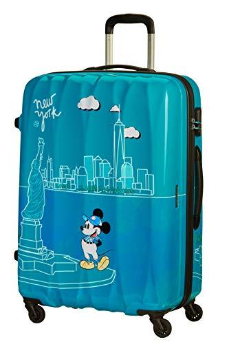 American Tourister Disney Legends - Spinner L Maleta, 75 cm, 88 L, Turquesa (Take Me Away...