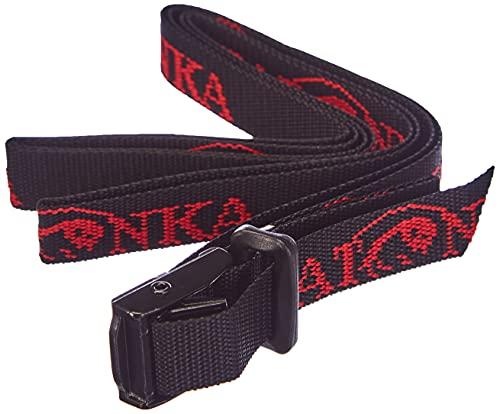 Tatonka Riemen ST-18mm/1,5m, Black, 150 x 1.8 cm