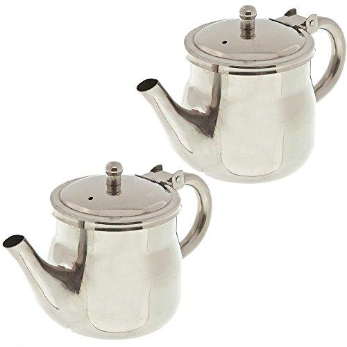 Update International GNS-10 10oz Gooseneck Teapots (Pack of 2)