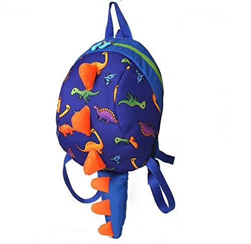 EPRHAN Mochila para niños con diseño de dinosaurio, para niños, mochila preescolar con correa antipérdida, para guardería, bebé, bebé, viaje, niños, regalo