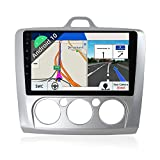 JOYX Android 10 Autoradio para Ford Focus (2006-2011) - [2G+32G] - Gratis Cámara Canbus - 9 Pulgada 2 DIN - IPS 2.5D Screen - Apoyo Dab 4G WLAN Bluetooth Carplay Mandos de Volante Google Mirrorlink