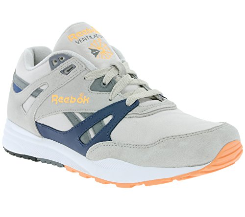 Reebok Ventilator Schuhe 12,0 steel/blue/orange/gr, 45,5 EU