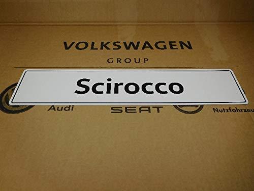 VW Original Ersatzteile Scirocco Kennzeichen (Selbstleuchtend) - 1K8071801B
