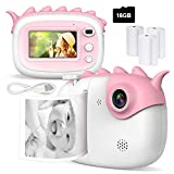 Kid Camera, 28MP Print Camera for Children, 1080P Video Camera with 3.0 Inch