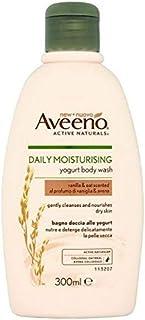 [Aveeno] Aveeno毎日保湿ヨーグルトバニラボディウォッシュ300ミリリットル - Aveeno Daily Moisturising Yogurt Vanilla Body Wash 300ml [並行輸入品]