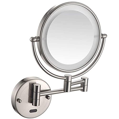 HYLX Espejo con Sensor montado en lapared, maquillajepara la Salud
