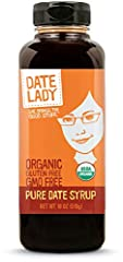 Ingredient: Just Organic Dates. Non-Gmo, Vegan, Kosher, Paleo, Gluten Free, No Added Sugar More potassium and magnesium than maple syrup and honey Use as all natural sweetener in sweet and savory dishes, and baking or as a spread on toast. Rich in an...