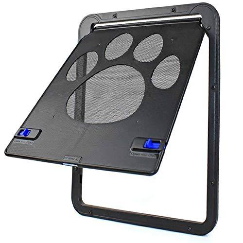 WDSZXH Multifunktion fliegengittertuer mit Katzenklappe, Hundeklappe Fliegengitter Tür Anti-moskito und Robust, Freiheit für Katze und Kleinen Hund