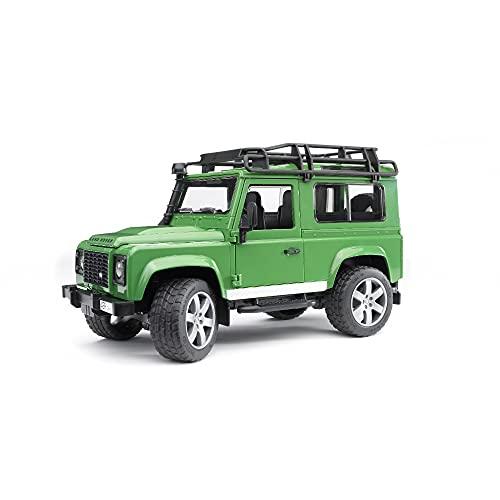 Bruder-02590 Juguete de Land Rover Defender-Station Wagon (02590)