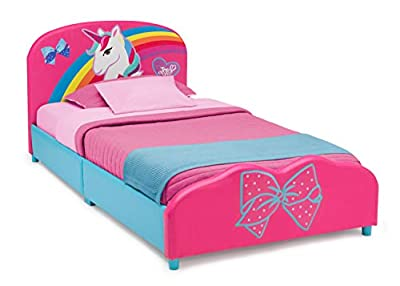 Delta Children Upholstered Twin Bed, JoJo Siwa from Delta Enterprise Corp - PLA