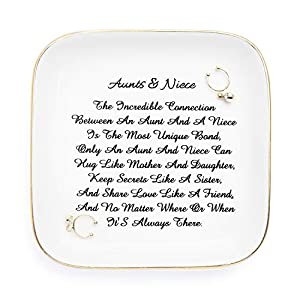 A Gift for Aunt from nephew.Sometimes it's hard to express thanks to those you are grateful for, but even the small gestures of generosity can deepen affection between family members. Show your appreciation for your closest family members with these ...
