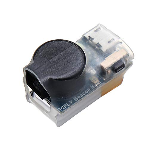 VIFLY Beacon drahtlos Akkuversorgter Copter Buzzer. Verlorener Copter Alarm Tracker mit Bewegungssensoren für z.B. DJI Quads, FPV Copter und RC-Flugzeuge