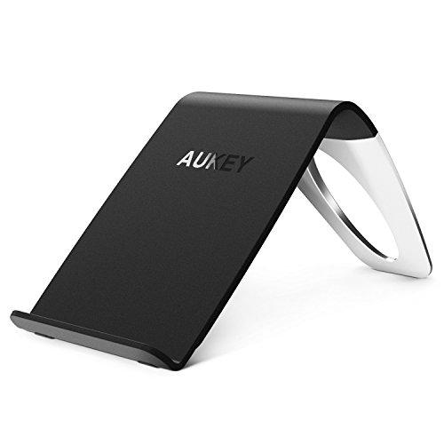 AUKEY Wireless Ladegerät Qi mit drei Spulen für GoogleNexus 5/ 6/ 7, LGG4,Limia950,Moto360 und andere Qi fähige Geräte