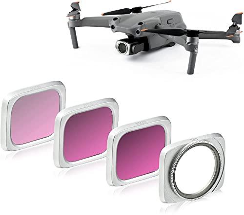 Linghuang - Juego de filtros ND para DJI Air 2S, lentes de filtro, filtro multirevestimiento, CPL ND16, ND32, ND64, accesorios para drones DJI Air 2S