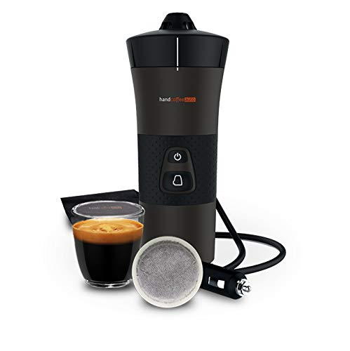 Handpresso - New Handcoffee Auto 21000, Machine a Cafe Portable à dosette pour Voiture 12V