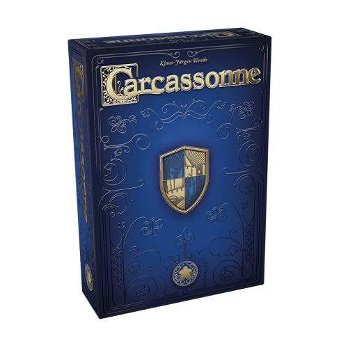 Asmodee Carcassonne Jubiläumsausgabe, Familienspiel, Strategiespiel, Deutsch