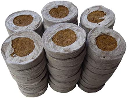 Coco Coir Seed Starter 35mm 60 Count Transplant Soil Discs product image