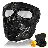 DAMARI Airsoft Mask, Tactical Skull Masks...