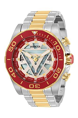 Invicta Marvel - Ironman 33368 Reloj para Hombre Cuarzo - 48mm