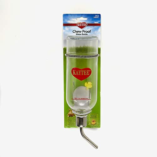 Kaytee Chew-Proof Water Bottle, 26-Ounce, 4.5 x 3.5 x 15-Inch