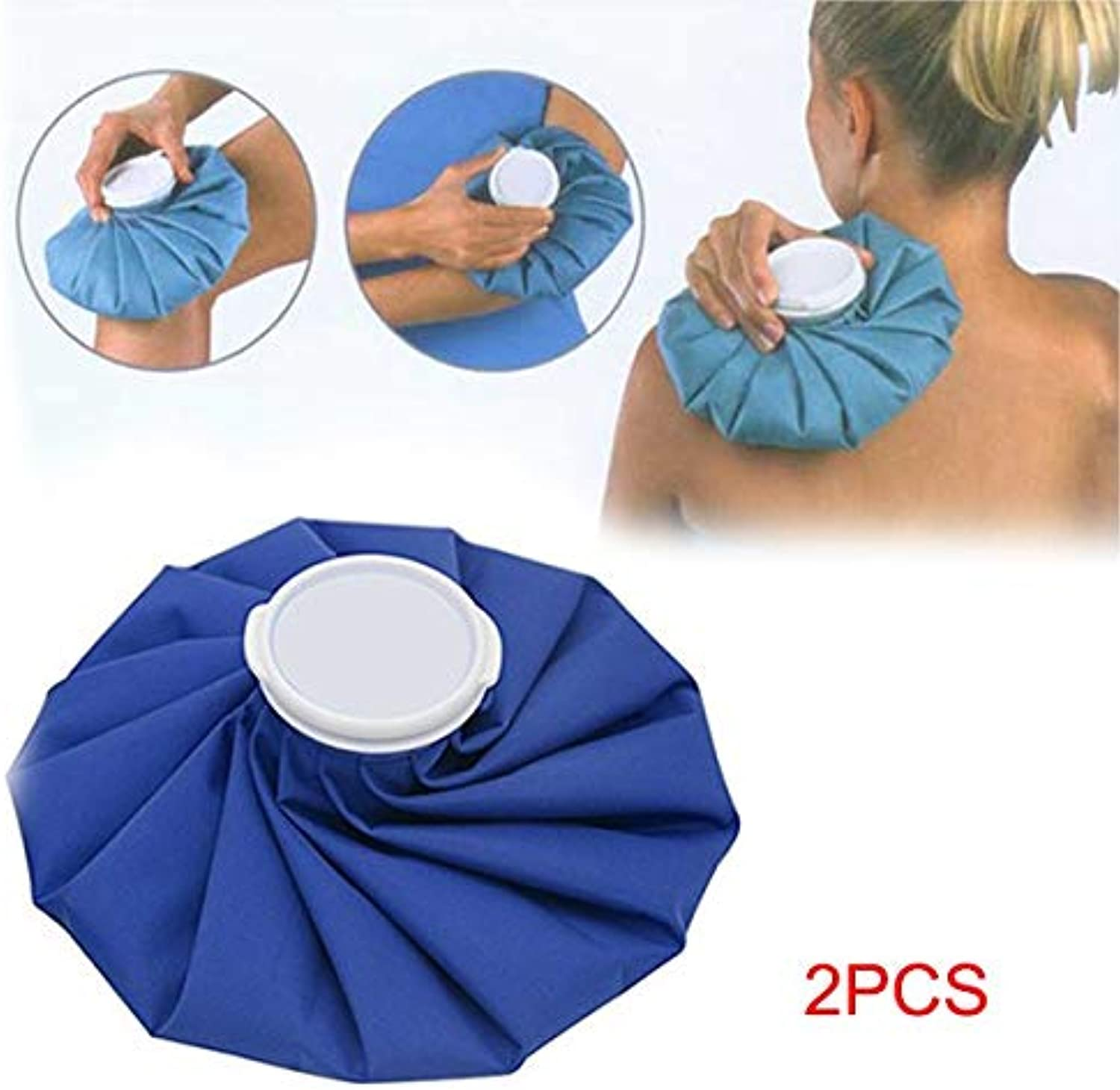 New Pocket Sport Injury Ice Bag Cold Therapy Pack Cap Outdoor Traveling Climbing Gym Fitness Emergency Equipment 2 Pcs   6 inch
