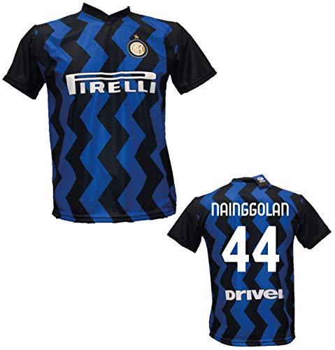 F.C.Internazionale Fußballtrikot Inter Nainggolan 44 zugelassene Replik 2020-2021 für Kinder (Größe 2 4 6 8 10 12) Erwachsene (S M L XL) S blau