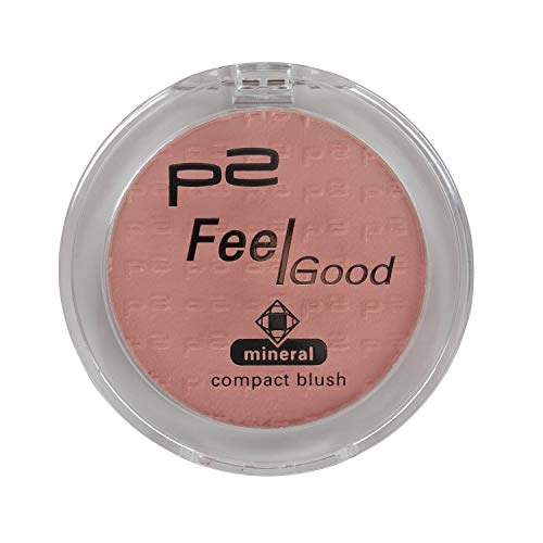 3x p2 cosmetics Make-up Teint Rouge Feel Good Mineral Compact Blush 032