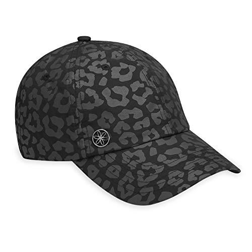 Gaiam Women's Classic Fitness Hat, Leopard Print Black, One Size