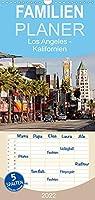 Los Angeles - Kalifornien - Familienplaner hoch (Wandkalender 2022 , 21 cm x 45 cm, hoch): Die ganze Vielfalt der Megastadt an der amerikanischen Westkueste (Monatskalender, 14 Seiten )