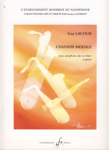 Lacour (–Belle Epoque Evocation) für Saxofon MIB oder SIB und Klavier