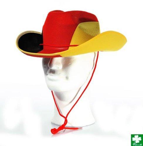 Allemagne avec ruban de chapeau de cowboy
