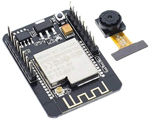 TECNOIOT Camera Module ESP32-CAM Bluetooth Module WiFi Board Development ESP32 OV2640 (Camera Included)