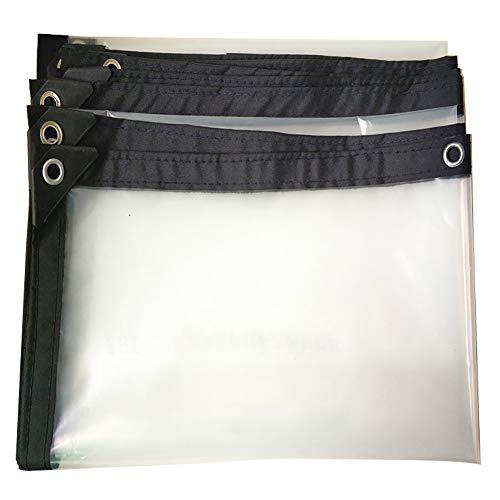 KXBYMX Tente imperméable imperméable en toile de pluie épaisse et imperméable Bâche imperméable de haute qualité (Couleur : A, taille : 3×8m)