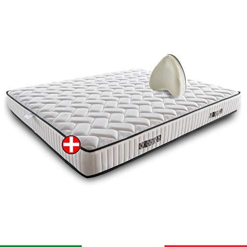 Materasso memory ortopedico SFODERABILE semirigido con Cuscini per le gambe memory in PROMOZIONE – GIGLIO H22/23 105x195 cm