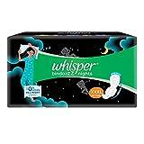 Whisper Ultra Night Sanitary Pads for Women, XXXL 10 Napkins