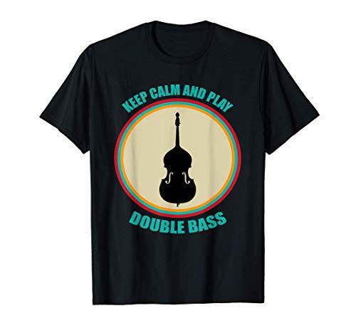 Gran Contrabajo Diciendo Música De Regalo Camiseta