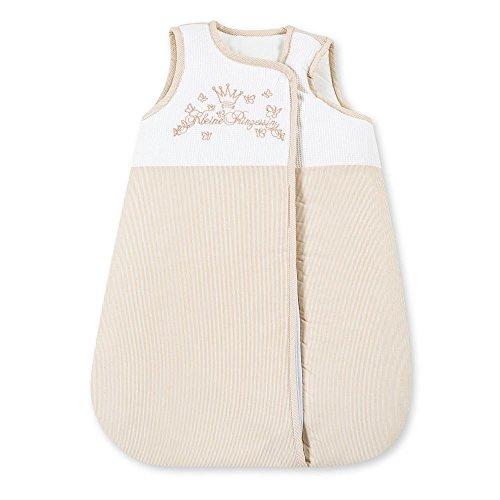 Baby Schlafsack Winterschlafsack/Sommerschlafsack für Jungen und Mädchen 70cm, Modelle:Kleine Prinzessin Beige