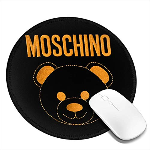 NOT Moschino Logo Round Mouse Pad 7.9x7.9 in