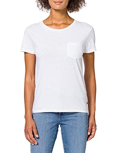 Levi's The Perfect Pocket Tee - Camiseta para mujer, color blanco (white), talla S