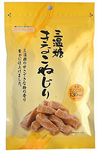 Japanese snacks - Kinako Mochi Twisted Japanese traditional candy- Handmade, No Additive, Using Hokkaido Soybeans 170g【CHAGANJU】