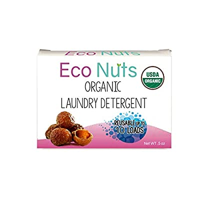 Eco Nuts USDA Organic Laundry Detergent, Trial Size, 0.5 Ounces for 10 Loads