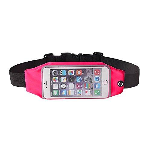 NOVAGO Sport Gürteltasche spritzwasserfeste Lauftasche, Handytasche, Handyschutz, Running, Joggen, für iPhone,Samsung S5/S6/S7/S8/S9,Huawei, Sony .und viele mehr (5.5