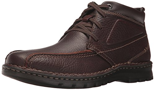 CLARKS Men's Vanek Rise Oxford Brown Oily Leather 11 M US