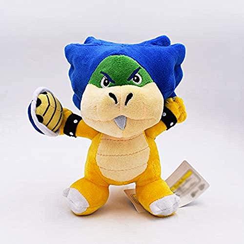 Super Mario Soft Toy-Soft Plush Doll Lindo Regalo De DecoracióN Del Hogar De Felpa Aproximadamente 18cm