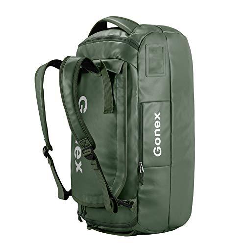 Gonex 80L Rucksack wasserdichte Reisetasche Wanderrucksack für Wandern, Camping, Reisen, Radfahren