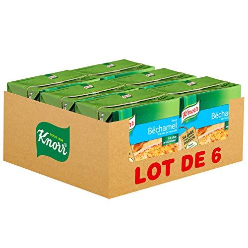 Knorr Sauce Béchamel à la Noix de Muscade Brique 50cl